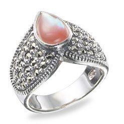 Marcasite jewelry ring HR0191 1