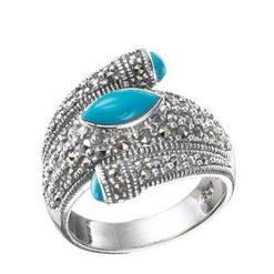Marcasite jewelry ring HR0196 1