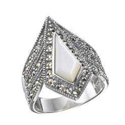 Marcasite jewelry ring HR0197 1