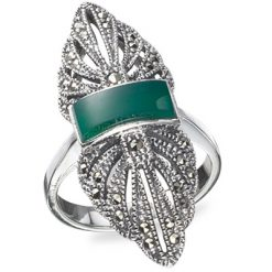 Marcasite jewelry ring HR0199 1