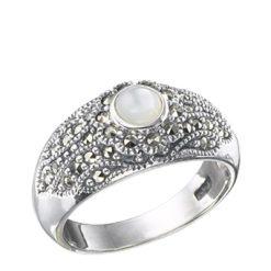 Marcasite jewelry ring HR0201 1