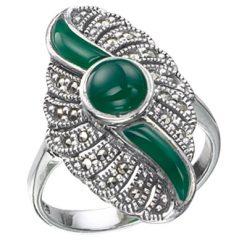Marcasite jewelry ring HR0205 1