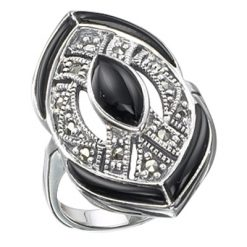 Marcasite jewelry ring HR0207 1