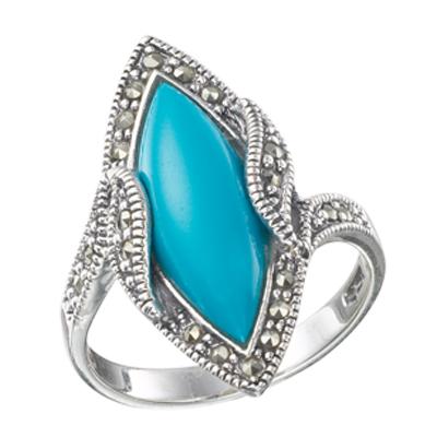 Marcasite jewelry ring HR0215 1