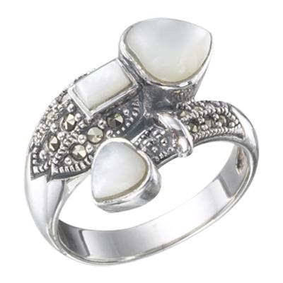 Marcasite jewelry ring HR0219 1