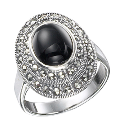 Marcasite jewelry ring HR0222 1