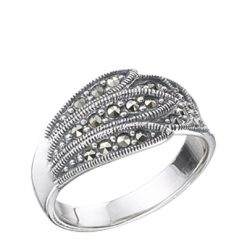 Marcasite jewelry ring HR0226 1
