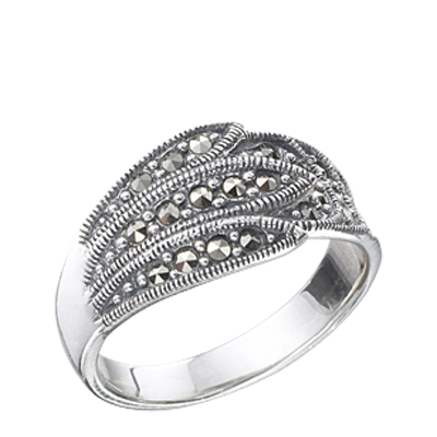 Marcasite jewelry ring HR0226 1