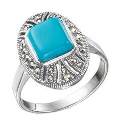 Marcasite jewelry ring HR0231 1
