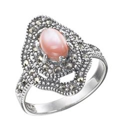 Marcasite jewelry ring HR0232 1