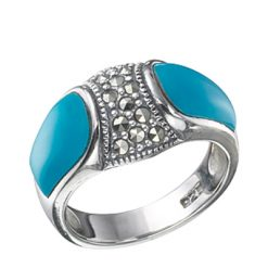 Marcasite jewelry ring HR0237 1