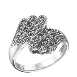 Marcasite jewelry ring HR0238 1