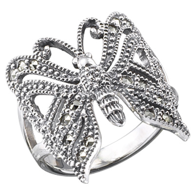 Marcasite jewelry ring HR0240 1