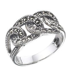 Marcasite jewelry ring HR0243 1