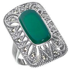 Marcasite jewelry ring HR0247 1