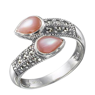 Marcasite jewelry ring HR0254 1