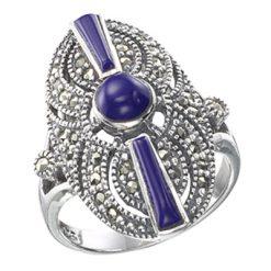 Marcasite jewelry ring HR0256 1