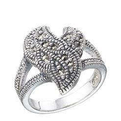 Marcasite jewelry ring HR0262 1