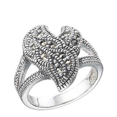 Marcasite jewelry ring HR0262 1