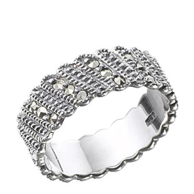 Marcasite jewelry ring HR0268 1
