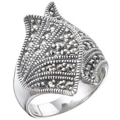 Marcasite jewelry ring HR0272 1