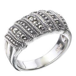 Marcasite jewelry ring HR0282 1