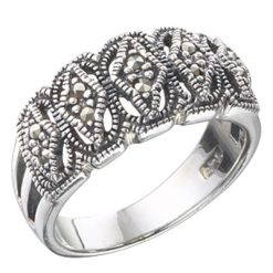 Marcasite jewelry ring HR0283 1
