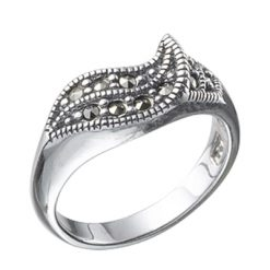 Marcasite jewelry ring HR0285 1
