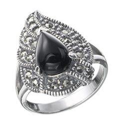 Marcasite jewelry ring HR0289 1