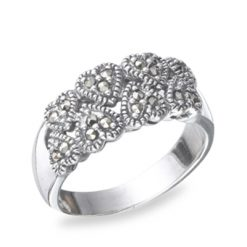 Marcasite jewelry ring HR0316 1