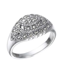 Marcasite jewelry ring HR0318 1