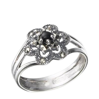 Marcasite jewelry ring HR0319 1