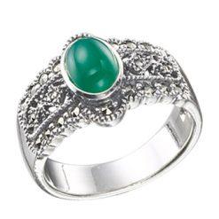 Marcasite jewelry ring HR0325 1