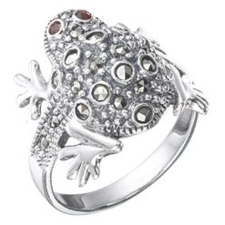 Marcasite jewelry ring HR0327 1