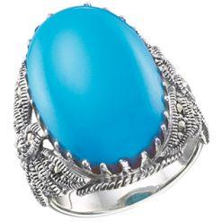Marcasite jewelry ring HR0329 1
