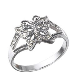 Marcasite jewelry ring HR0331 1