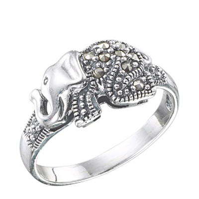 Marcasite jewelry ring HR0332 1