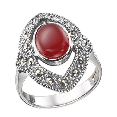 Marcasite jewelry ring HR0335 1