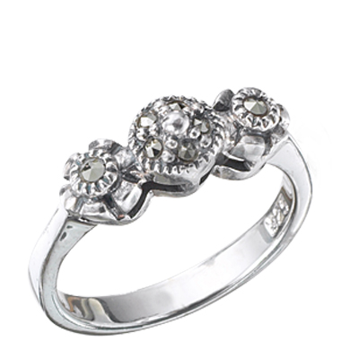 Marcasite jewelry ring HR0336 1