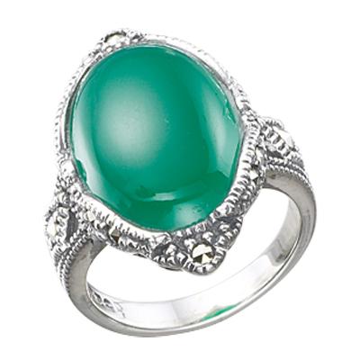 Marcasite jewelry ring HR0337 1