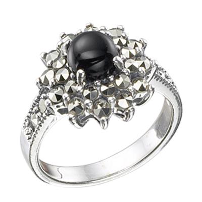 Marcasite jewelry ring HR0343 M 1