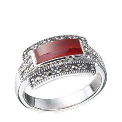 Marcasite jewelry ring HR0344 1