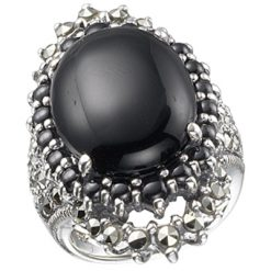 Marcasite jewelry ring HR0345 M 1