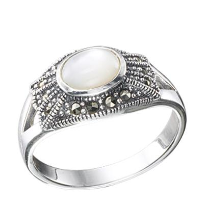 Marcasite jewelry ring HR0346 1