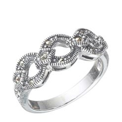 Marcasite jewelry ring HR0347 1