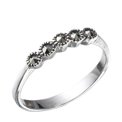 Marcasite jewelry ring HR0351 1