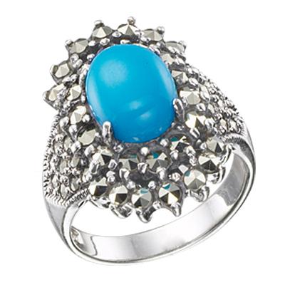 Marcasite jewelry ring HR0353 M 1