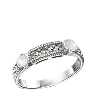 Marcasite jewelry ring HR0354 1