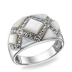 Marcasite jewelry ring HR0355 3