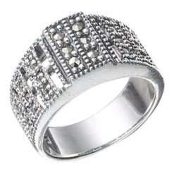 Marcasite jewelry ring HR0359 1